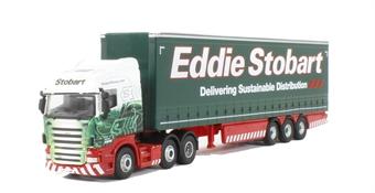 76STOB039 Eddie Stobart Scania Highline Curtainside