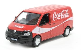 76T5V003CC VW T5 Van Coca Cola