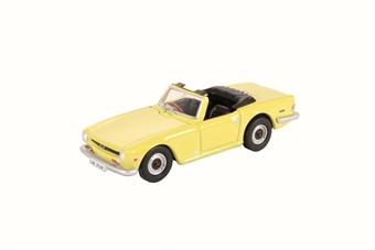 76TR6001 Triumph TR6 Mimosa Yellow