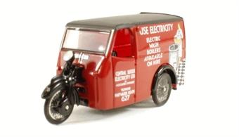 "76TV005 Tricycle Van ""Use Electricity"""