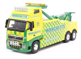 76VOL08REC Volvo FH Boniface Recovery Truck Manchetts