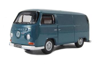 76VW009 VW Bay Window van Regatta Blue.