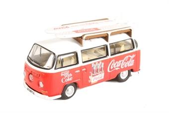76VW030CC Volkswagen Bay Window Coca Cola
