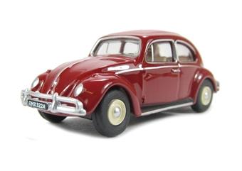 76VWB002 VW Beetle in Ruby Red