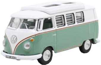 76VWS002 Volkswagen T1 Camper Turquoise/White