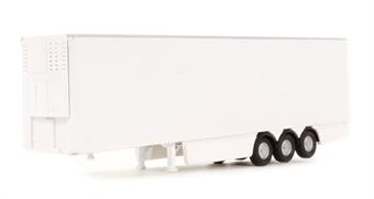 76WHFRTRA White modern fridge trailer