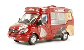 """76WM001 Whitby Mondial Ice Cream Van """"Walls Ice Cream"""""""