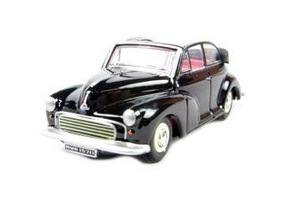 76MMC002 Morris Minor Soft Top in Black
