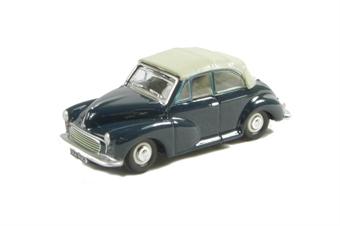 76MMC004 Morris Minor Convertible Closed in Trafalgar Blue/Pearl Grey