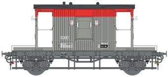7F-200-015 20 ton standard CAR brake van in Railfreight red and grey - B954561