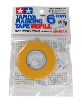 87033TAM Masking Tape 6mm refill