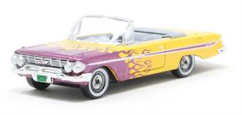 87CI61004 Chevrolet Impala Convertible 1961 Hot Rod