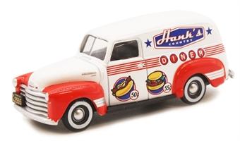 "87CV50003 Chevrolet Panel Van 1950 ""Hanks Country Diner"""