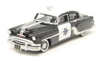 87PC54003 Pontiac Chieftain 4 Door 1954 California Highway Patrol