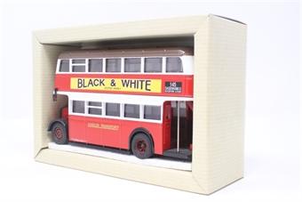 97203-PO18 Guy Arab Park Royal Utility Double decker Bus - London Transport - Pre-owned - Very good box