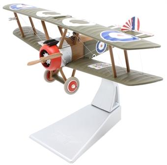 AA38109 Sopwith F.1 Camel, No.3 Squadron RNAS, Lloyd S Breadner, Bray Dunes Aerodrome 1918