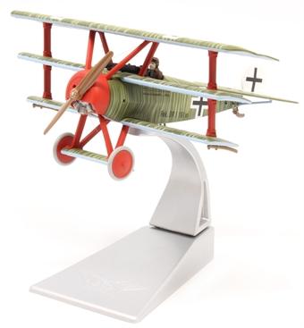 AA38310 Fokker DR.1 Triplane, Wolfram Freiherr von Richthofen, 21st April 1918, Death of the Red Baron.