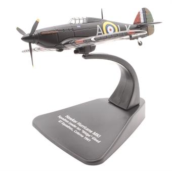 AC105 Hawker Hurricane Mk1 87 Squadron S/L Ian Gleed Colerne 1941