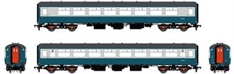 ACC2661-TSO5482 Mk2B TSO tourist second open in BR blue and grey - W5482