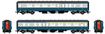 ACC2663-BFK1411 Mk2B BFK brake first corridor in BR blue and grey - W14111