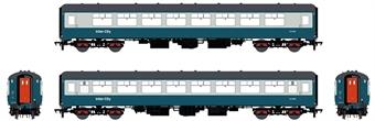 ACC2664-TSO5439 Mk2B TSO tourist second open in BR blue and grey - W5439