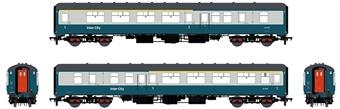 ACC2669-BFK17107 Mk2B BFK brake first corridor in BR blue and grey - W17107