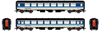 ACC2679-TSO5479 Mk2B TSO tourist second open in TransPennine provincial blue - 5479