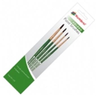 AG4050 Coloro paint brush pack including brush sizes 00, 1, 4 & 8