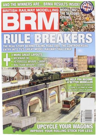 BRM19Spring British Railway Modelling magazine - Spring 2019