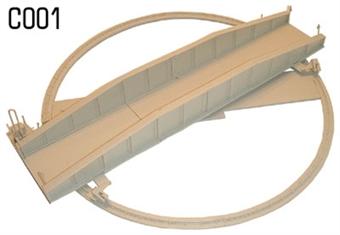 C001 Turntable plastic kit