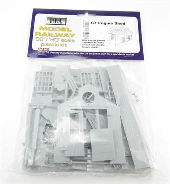 C007 Engine Shed plastic kit