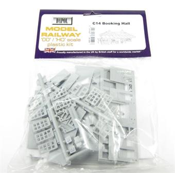 C014 Booking Hall plastic kit