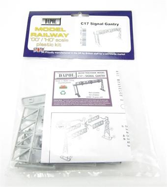 C017 Signal Gantry plastic kit