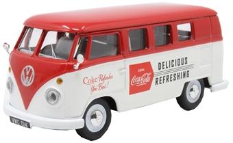 CC02733 VW Camper - Coca Cola - late 1960s style