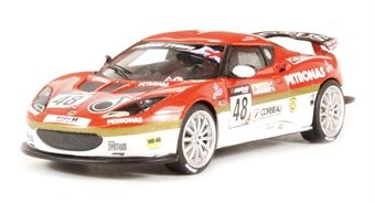 CC56601 Lotus Evora GT4, British GT Championship 2012, Phil Glew & Sailesh Bolisetti NEW TOOLING