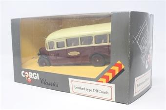 D949-31-PO13 Bedford OB Coach - British Railways - Pre-owned - Good box