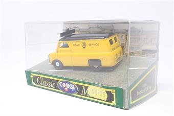 D981-3-PO01 Bedford CA van 'AA Road Service' - Pre-owned - Good box