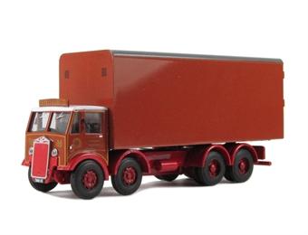 "DA15 Albion CX7 8 wheel box van ""B.R.Mills"""