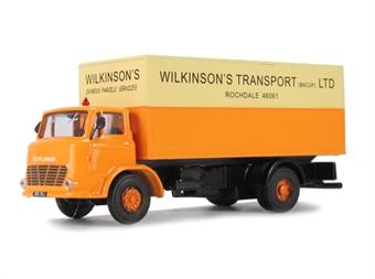 """DA21 Leyland Boxer van """"Wilkinsons"""""""