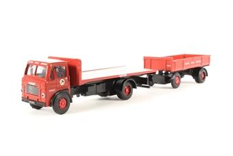 """DA99 Leyland Beaver flatbed & dropside trailer """"British Road Services"""""""