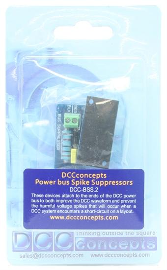 DCC-BSS-2 Bus Spike Suppressor (2 Pack)