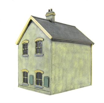 EM6109A Stationmaster's house - whitewashed brick
