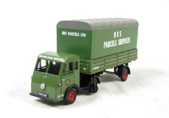 """EM76507 Jen-Tug & Parcels Van Trailer """"BRS Parcel Services"""""""