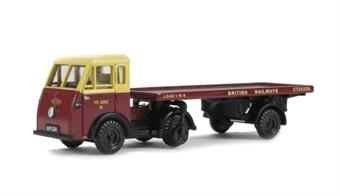 EM76509 Jen-Tug & Articulated trailer 'British Railways' Fleet No. YE 3082 N