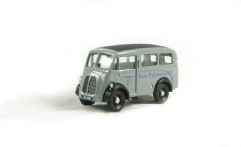"""EM76650 Morris J Estate Works Bus """"Taylor Engineering Ltd.""""."""