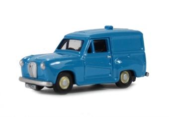 EM76658 Austin A30 Van in streamline blue