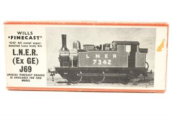 F113-PO02 LNER (Ex GE) J69 0-6-0 kit - Pre-owned - Fair box