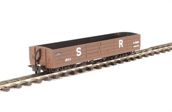 GR-231 Lynton and Barnstaple 8 ton bogie open wagon in Southern Railway brown
