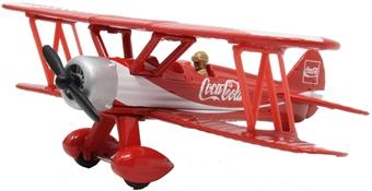 GS99727 Boeing-Stearman biplane - Coca Cola - Limited edition