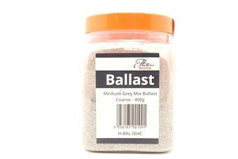 H-BAL-004C-PO01 Medium Grey Mix Ballast - Coarse - 400g - Pre-owned - Factory sealed